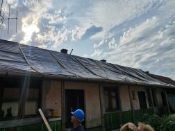 Lefóliázott tető