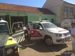 Ifjú tűzoltók Balassagyarmaton
