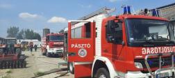Tűzoltóautók Szurdokpüspökiben
