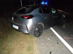 Közúti baleset Salgótarján és Somoskőújfalu között