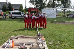 A ságújfalui női csapat