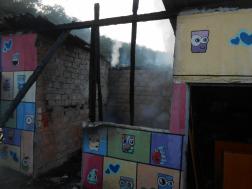 A kiégett épület