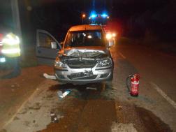 Közúti baleset Karancsalján