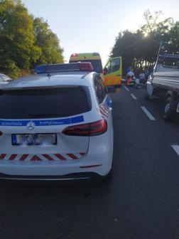 A sérülteket a mentőszolgálat munkatársai kórházba szállították